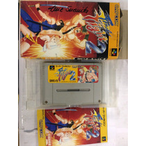 Fita De Super Nintendo Original Final Fight 2
