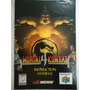 Manual De N64 Mortal Kombat 4 Importado