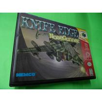 Knife Edge Nose Gunner Original Com Caixa Nintendo 64 N64