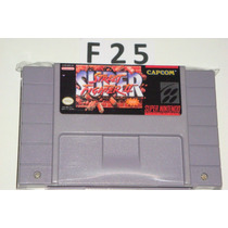 Super Street Fighter 2 Original Snes!! # F25