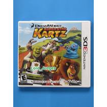 Dreamworks Super Star Kartz / Shrek - 3ds - Lacrado !!!
