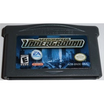 Gba: Need For Speed Underground + Garantia! Raríssimo! Jogão