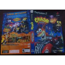 Crash Tag Team Racing - Encarte Original Playstation 2