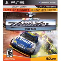 Days Of Thunder: Nascar Edition - Ps3 - Usado - Frete Grátis