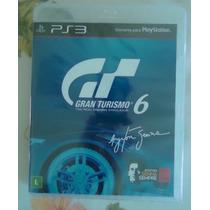 @ Gran Turismo 6 Português Playstation 3 Original Lacrado @