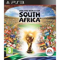 2010 Fifa World Cup South Africa - Jogo Ps3 Mídia Física