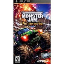 Jogo Umd Para Psp Monster Jam Path Of Destruction , Lacrado