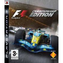 F1 Formula Um One Championship Edition Frete Grátis Jogo Ps3
