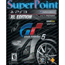 Gran Turismo V Xl Edition Incluso Atualizações, 2d Ou 3d Ps3