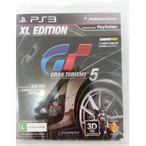 Gran Turismo 5 Xl Edition Ps3 - Novo - 12x Sem Juros.