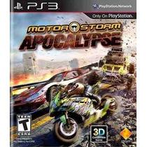 Motorstorm Apocalypse Ps3 Novo Original Lacrado Rcr Games