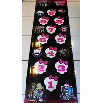Monster High Amarelinha Sapata Tapete De Lona