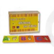 Alfabeto Em Libras (jogo De Encaixe) - Ct611 / 817 Bm