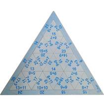 Quebra Cabeça Triangular Adição Pilipili