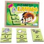 Brinquedo Educativo Alfabeto Ilustrado Português Pili Pili