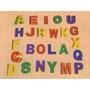Alfabeto Móvel Em Borracha Eva - 255/509bm