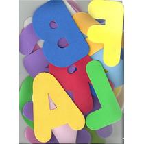 Alfabeto Completo Em E.v.a. 13cm Cada Letra - Frete Grátis