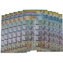 10 Emb. De Mini Dinheiro Brinquedo-dinheirinho C/66 Cada Emb
