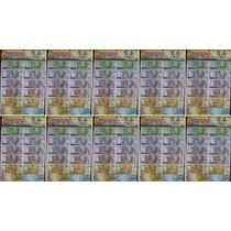 10x Mini Dinheiro Dinheirinho C/100 (10x4cm) Mod.ant. + Nf