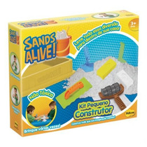 Massinha Sands Alive Construtor Yellow