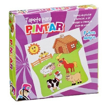 Tapete Pinta E Apaga - Fazendinha - Brinquedos Educativos