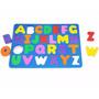 Alfabeto Prancha 1 Base 26 Letras Coloridas Eva Carlu