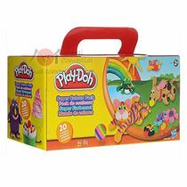Refil Massinha Para Modelar Play Doh Kit Com 20 Cores Hasbro
