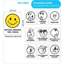 Carimbo Educativo Pedagógico Psico Avaliação Modelo Smile