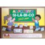 Alfabeto Silábico 360 Peças Em Mdf Com Caixa De Madeira