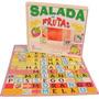 Salada De Frutas Com 25 Peças ( Em Madeira Mdf )