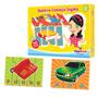 Quebra Cabeça Inglês Nina Brinquedos Educativos