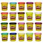 Play-doh Refil 6 Potes Massinha De Modelar - Hasbro