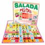 Salada De Fruta Brinquedo Educativo Pedagogico Alfabetizaçao