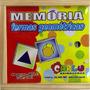 Jogo Da Memória Formas Geométricas Carlu Em Madeira