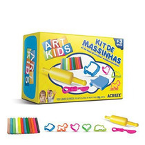Kit De Massinhas - Art Kids Acrilex Nº2 - Brinq. Educativo