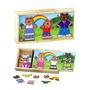 Família Ursinhos Kids Troca De Roupa Nina Brinquedos Edu