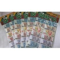 5 Emb. Mini Dinheiro Brinquedo-dinheirinho C/100 Cada Emb