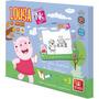 Lousa Infantil Porquinhos + Apagador Brincadeira De Criança