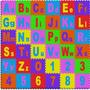 Brinquedo Educativo Tapete Alfabeto Gigante Com 36 Peças
