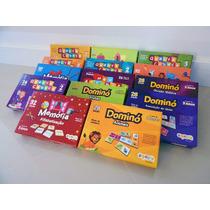 Kit Mix 14 Jogos Pedagógicos - Sopecca