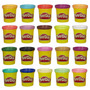 Play-doh - Super Pacote Massinha Ônibus C/20 Cores Hasbro
