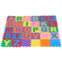 Tapete Gigante Colorido Com 30 Peças Em Eva 057 - Carlu