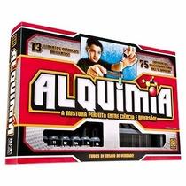 Jogo Alquimia Grow - 75 Experiências - 13 Elementos Químicos