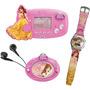 Kit Disney Princesa 3em1 Radio/ Mini Game/ Relógio - Candide