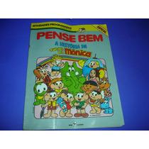 Livro Para Pense Bem Tec Toy Original , Turma Da Monica