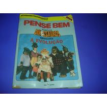 Livro Para Pense Bem Tec Toy Original , Familia Dinossauros