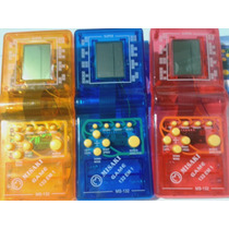 Mini Game Tetris 132 In 1 Jogos + Grátis 2 Pilhas