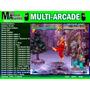 Multijogos Arcade Advmenu Com 600 Jogos Frete Gratis