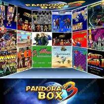 Placa Arcade Fliperama Jamma Pandora Box 3 C/520 Multijogos