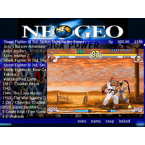 Sistema Multijogos Miniarcade Gamer (n Hyperspin Mame Neogeo